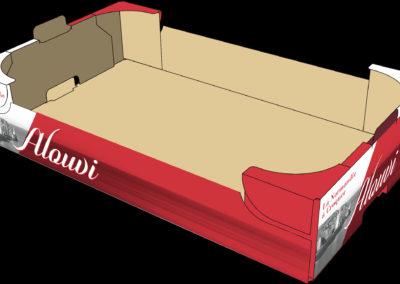 création packaging Alouvi