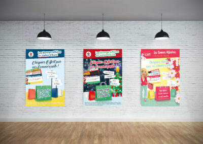Affiche des Commerçants