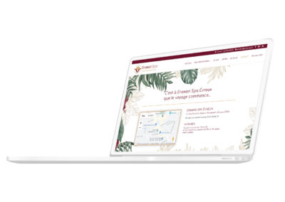 Création du site internet - e-shop